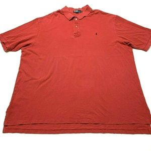 Polo Ralph Lauren Red w/Blue Pony Short Sleeve